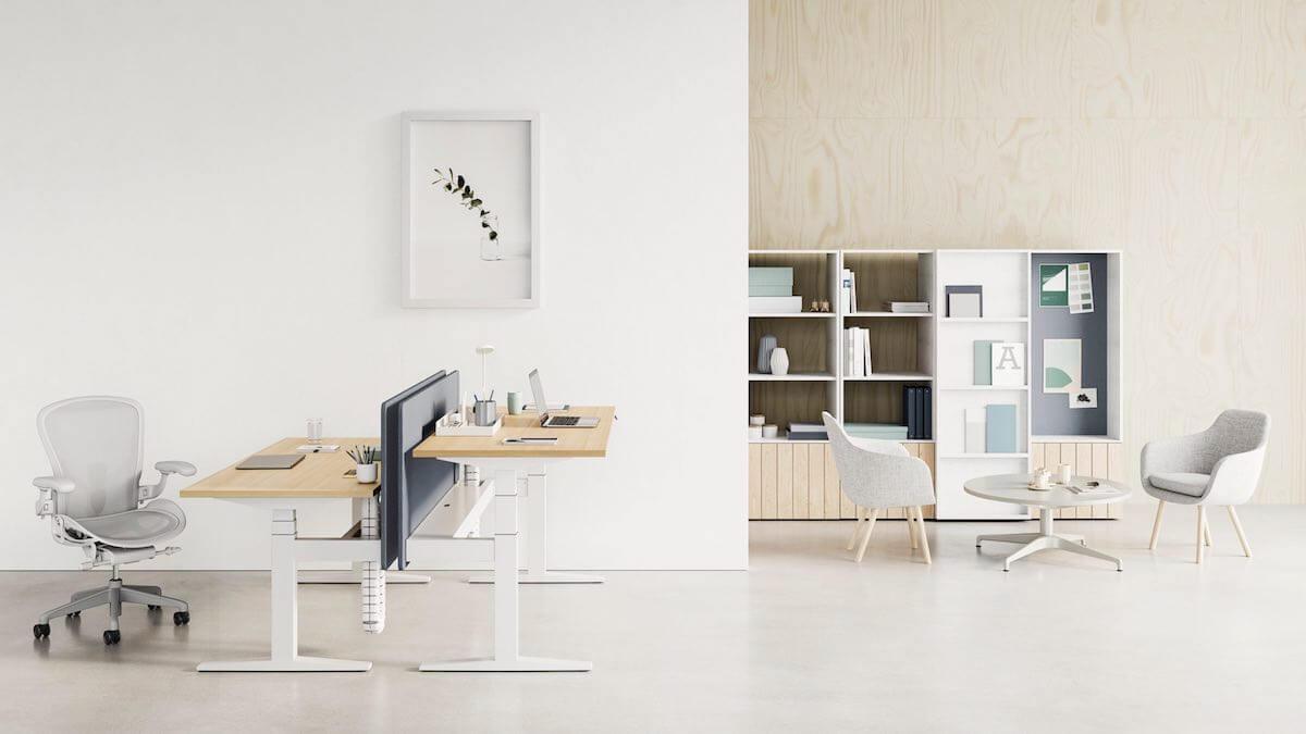 Herman Miller Ratio desk review by inovafurniture