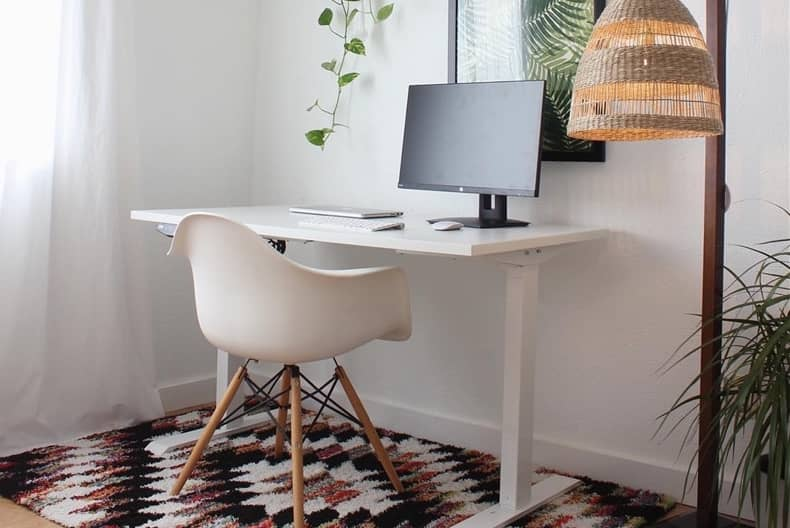 standing desk flexispot vs fezibo